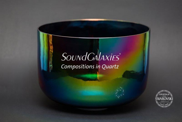Kristall Klangschale Rainbow